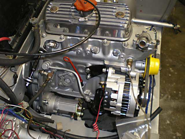 Mgb Alternator Wiring Diagram : Alternator conversion